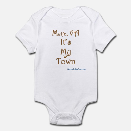 Melfa VA It's My Town Infant Bodysuit