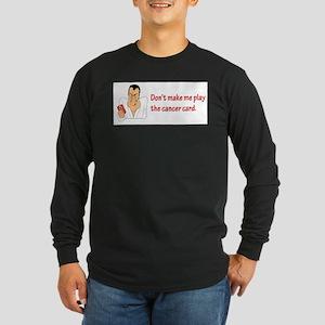 Real Men Dig Bald Chicks Long Sleeve T-Shirt