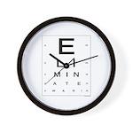 ELIMINATE WAR! Wall Clock