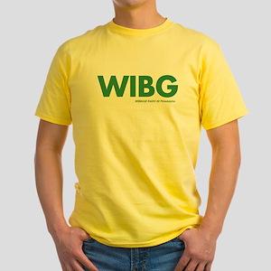 WIBG Philadelphia 1973 Yellow T-Shirt