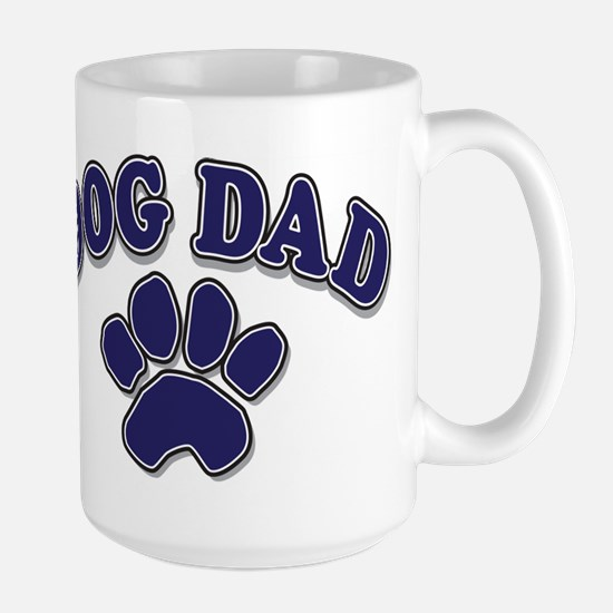 Dog Dad Father's Day Large Mug