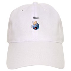 Frantic Bowling Ball Baseball Cap