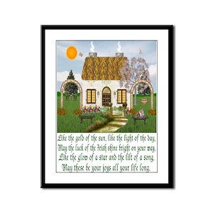 Irish Blessing Framed Print