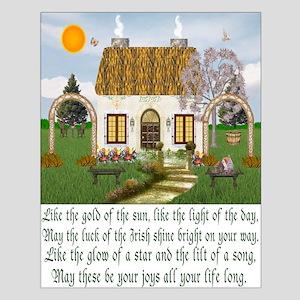 Irish Blessing Unframed Print