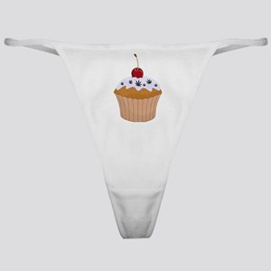 Mary Jane's Cupcake (Color) Classic Thong