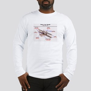 1903 Wright Flyer Parts Long Sleeve T-Shirt