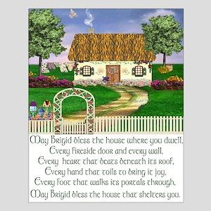 Irish House Blessing Unframed Print