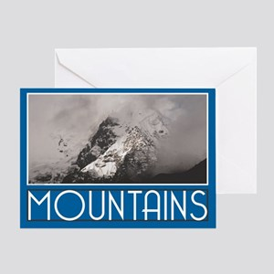 Andes Mountains Peru Greeting Card