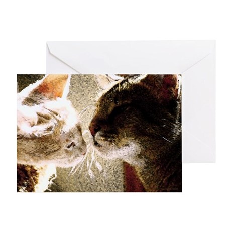 Cats Best Friends Greeting Card