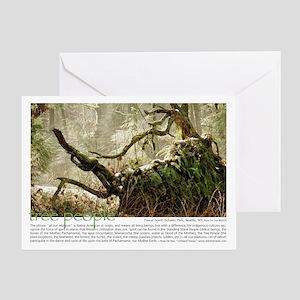 Forest Spirit Greeting Card