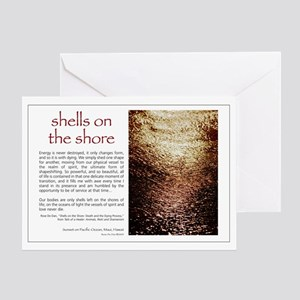 Shells on the Shore Greeting Card
