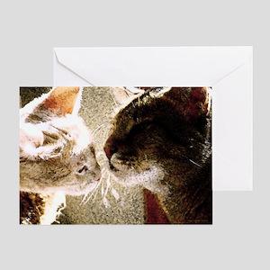 Cats Best Friends Sympathy Card