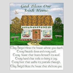 House Blessing (Brigid) Unframed Print