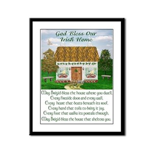 House Blessing (Brigid) Framed Print