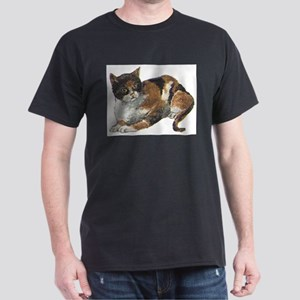 Calico Black T-Shirt