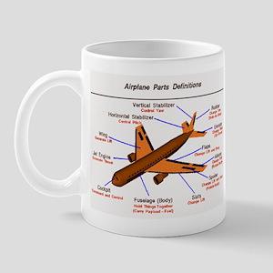Airplane Parts Mug