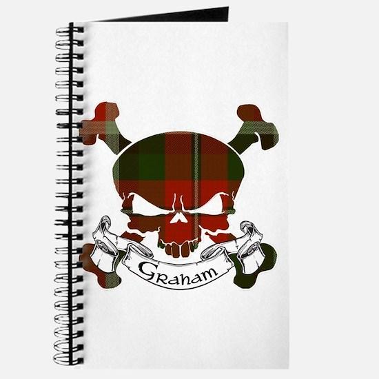 Graham Tartan Skull Journal