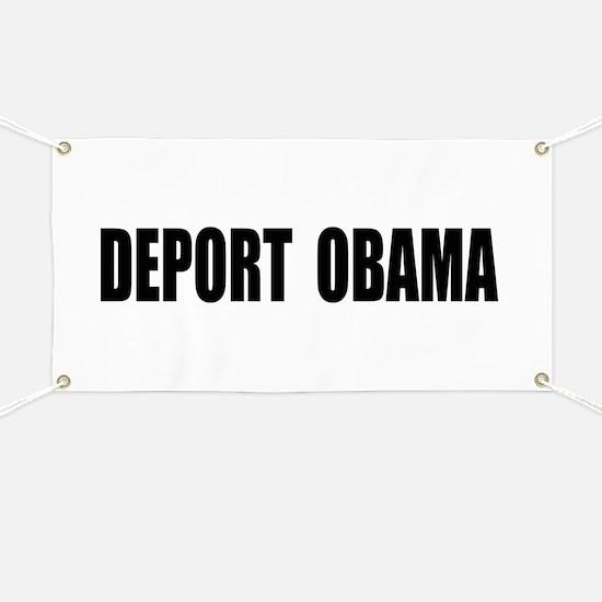 Deport Obama Banner