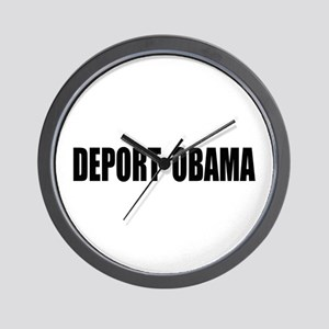 Deport Obama Wall Clock