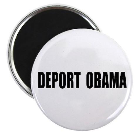 """Deport Obama 2.25"""" Magnet (100 pack)"""