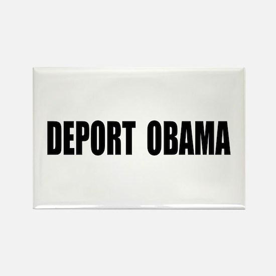 Deport Obama Rectangle Magnet (100 pack)