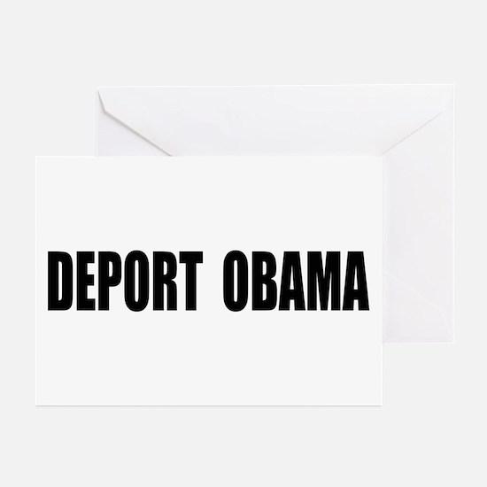 Deport Obama Greeting Cards (Pk of 10)