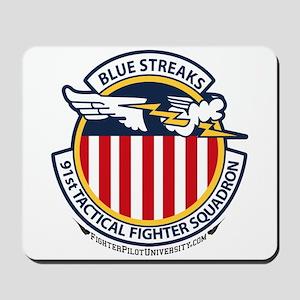 91st TFS Blue Streaks Mousepad