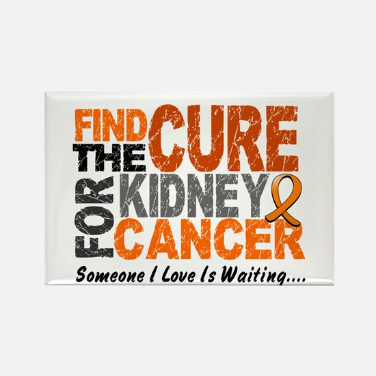 Find The Cure 1 KIDNEY CANCER Rectangle Magnet