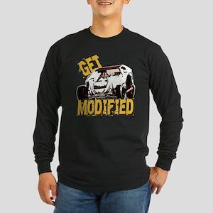 Get Modified Long Sleeve Dark T-Shirt