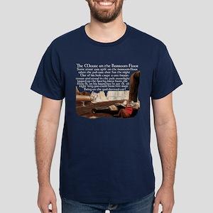 Mouse on the Pub Floor Dark T-Shirt