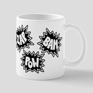 Comic Sound FX - Black & White - Mug