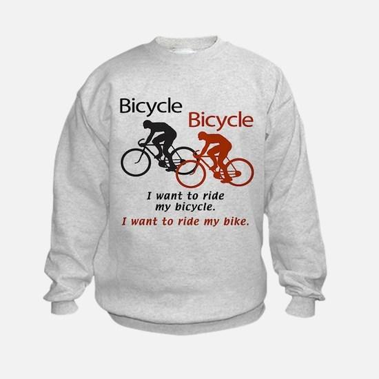 Bicycle Bicycle Sweatshirt