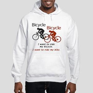 Bicycle Bicycle Hooded Sweatshirt