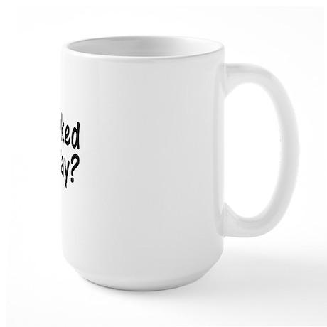 Thank You Veterans Large Mug