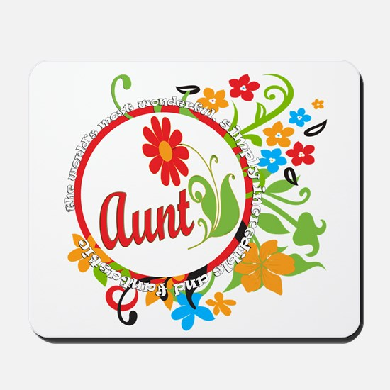 Wonderful Aunt Mousepad