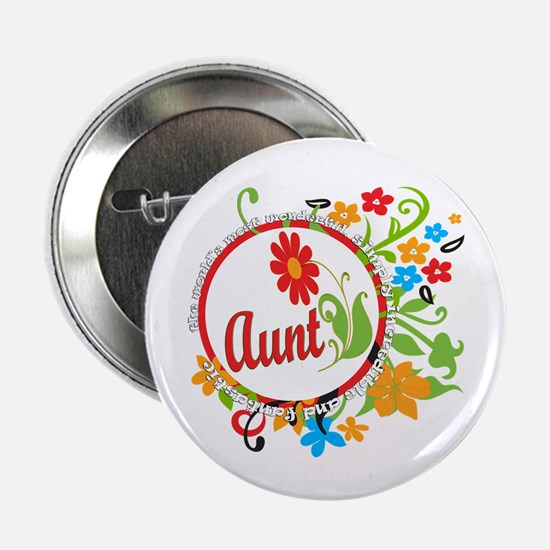 "Wonderful Aunt 2.25"" Button"