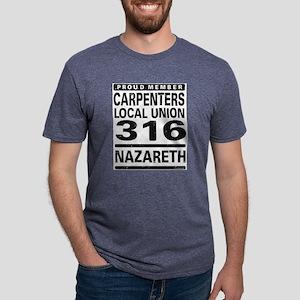 Carpenters Local Union 316 Ash Grey T-Shirt