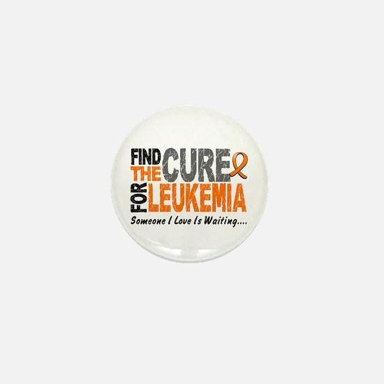 Find The Cure 1 LEUKEMIA Mini Button
