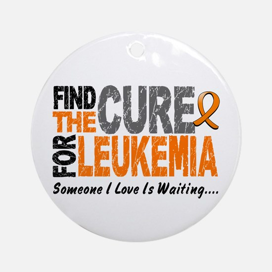 Find The Cure 1 LEUKEMIA Ornament (Round)