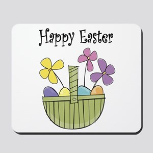 Country Easter basket Mousepad