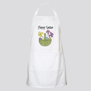 Country Easter basket BBQ Apron