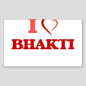 I Love BHAKTI Sticker