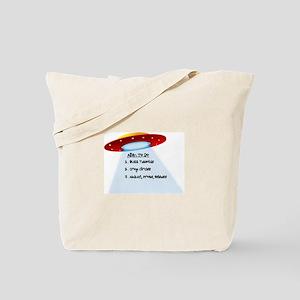 UFO To Do Tote Bag