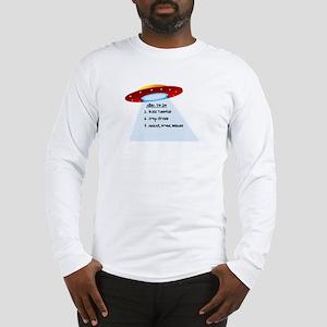 UFO To Do Long Sleeve T-Shirt