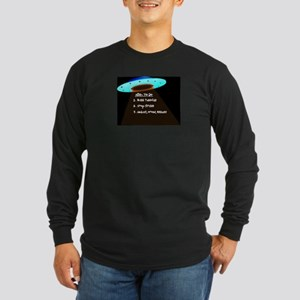 UFO To Do Long Sleeve Dark T-Shirt