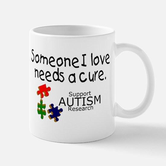 Someone I Love Needs A Cure Mug
