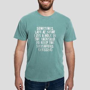 keep the neighbors guessing Women's Dark T-Shirt