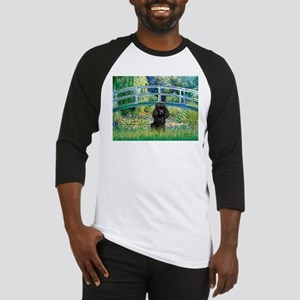 Bridge / Poodle (Black) Baseball Jersey