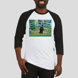 Bridge / Poodle (Black) Baseball Jersey