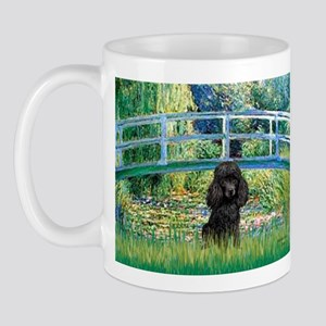 Bridge / Poodle (Black) Mug